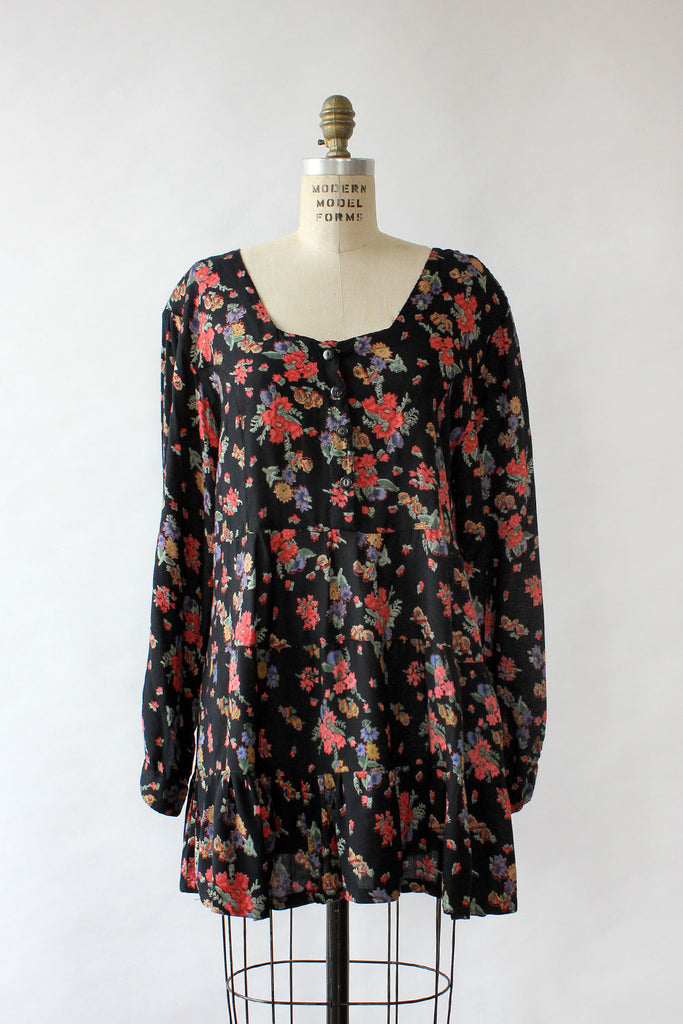 Floral Tiered Babydoll M/L