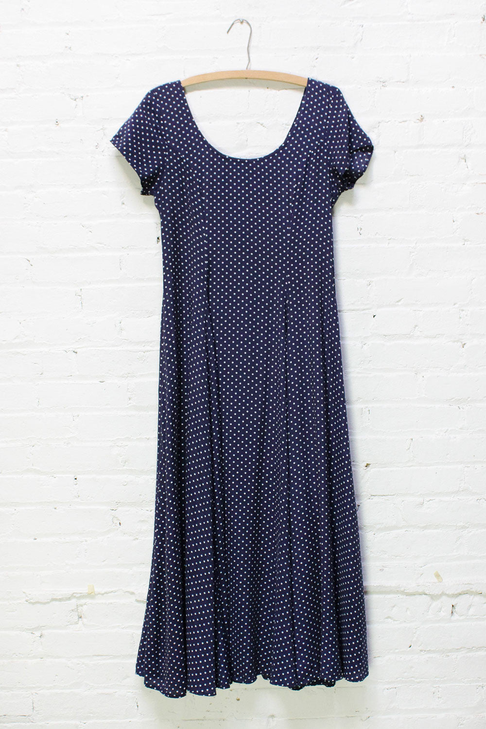 Dotty Scoop Dress M/L