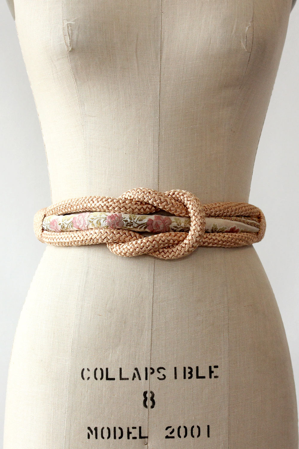 Victoria Tapestry Knot Belt