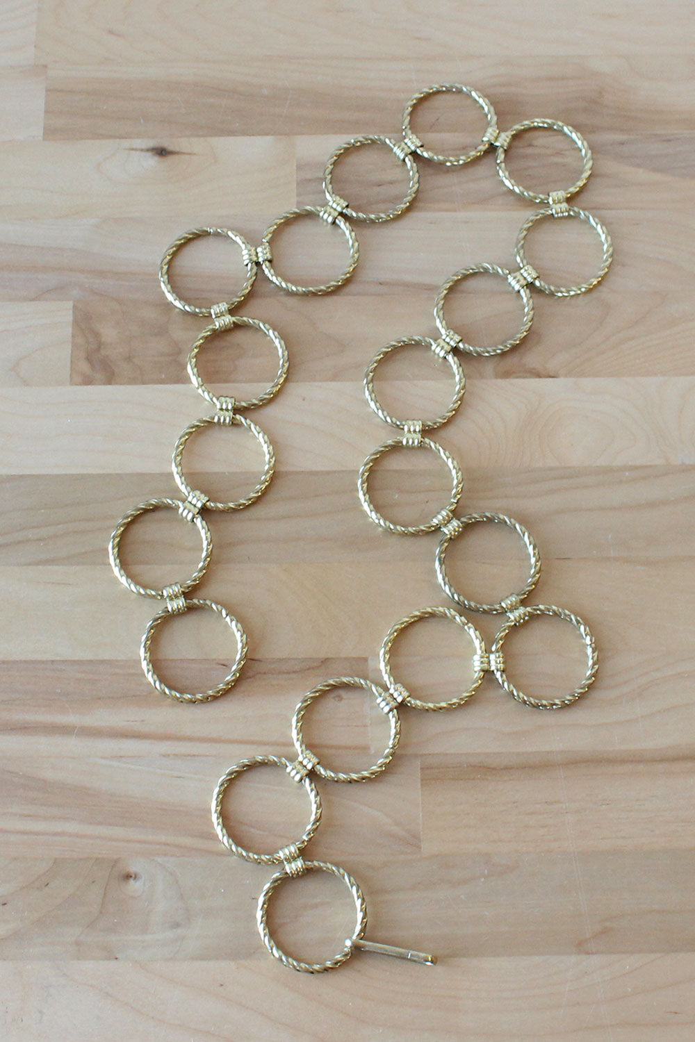 Golden Circle Chain Belt