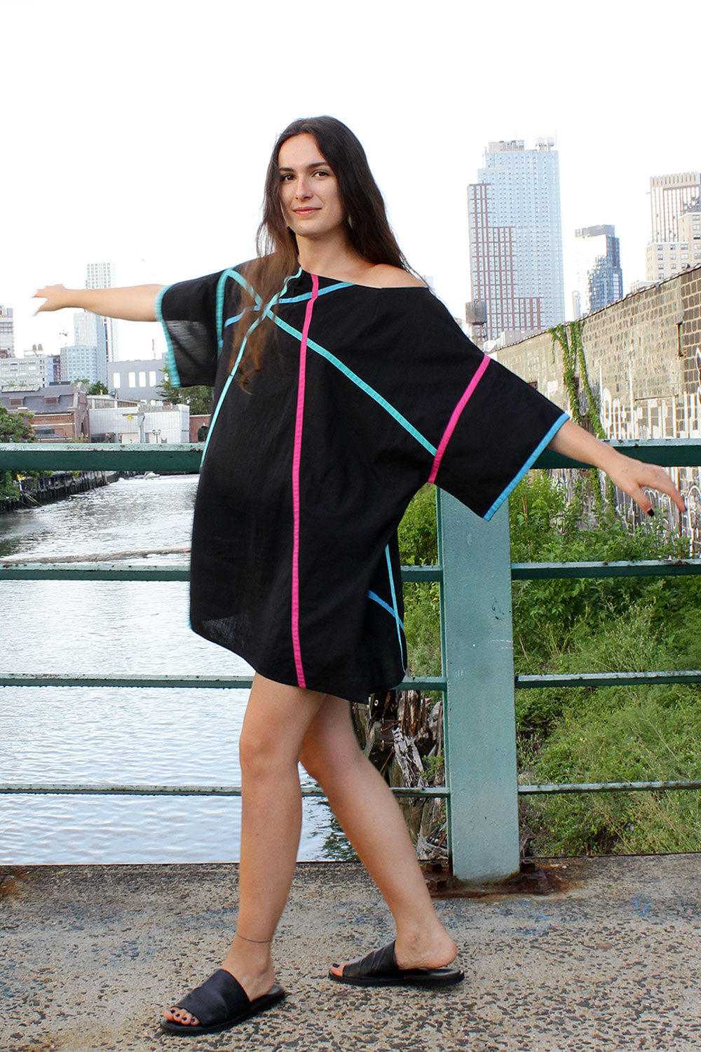 Angular Smock Dress