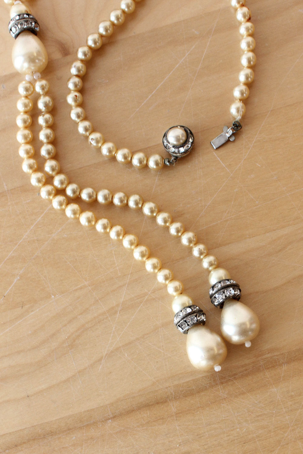 Pearl Trails Necklace