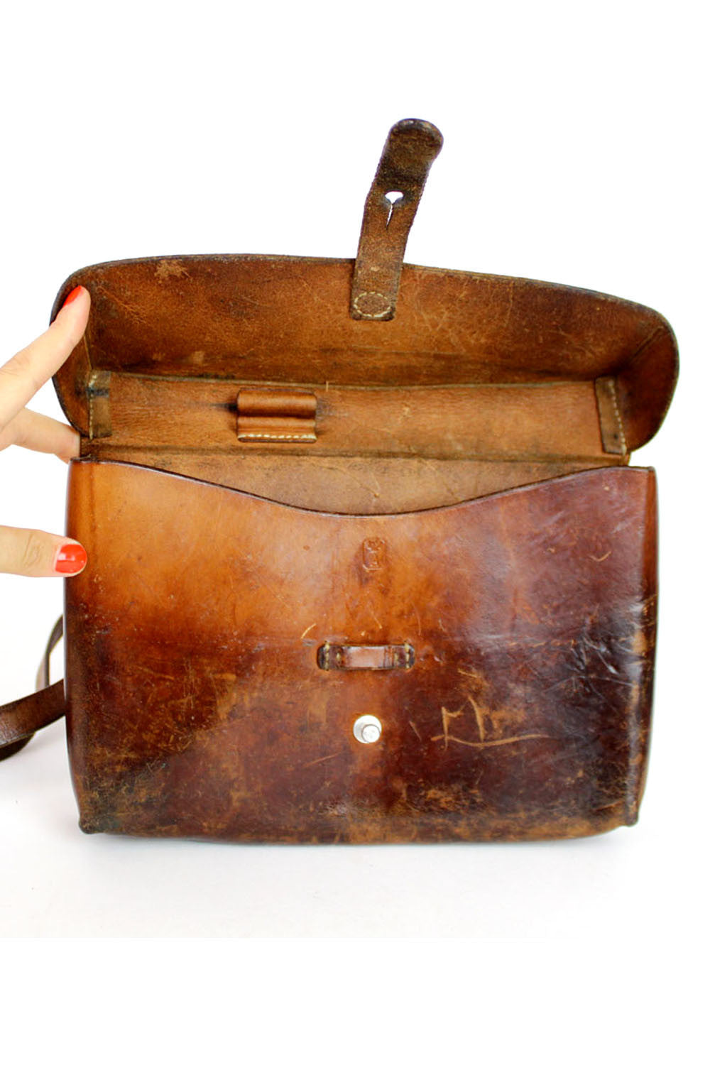 Swiss conductor satchel