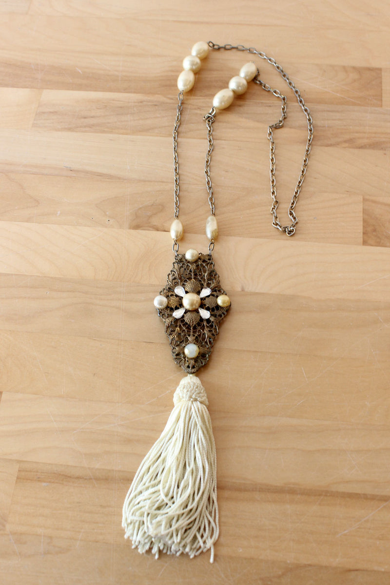 Ana Tassel Necklace