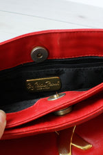 Paloma Red Leather Bag