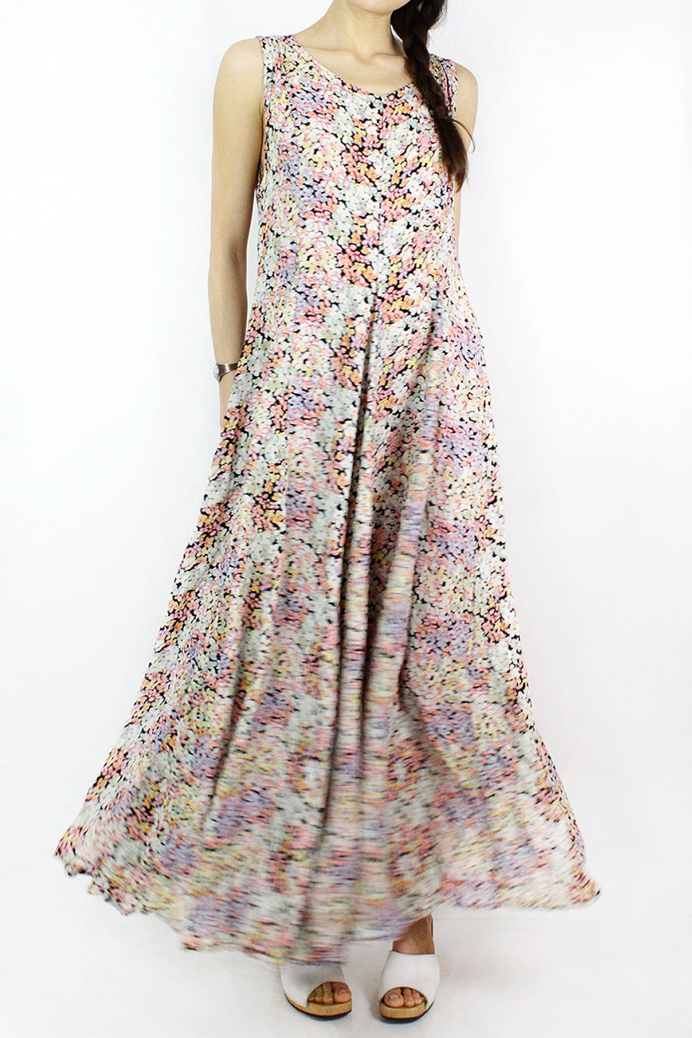 Swept Up Floral Dress M/L
