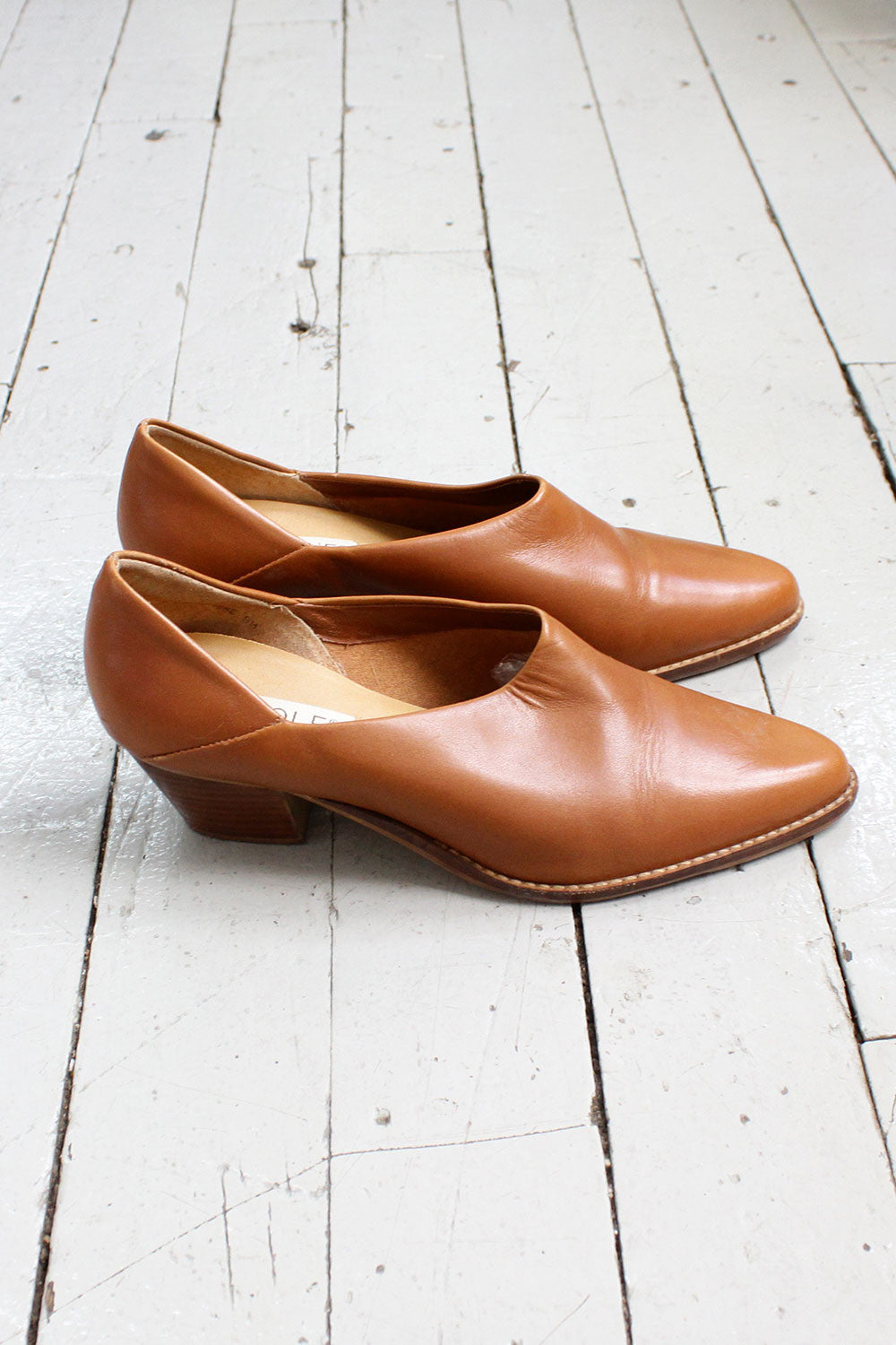 Cutout Maple Booties 9