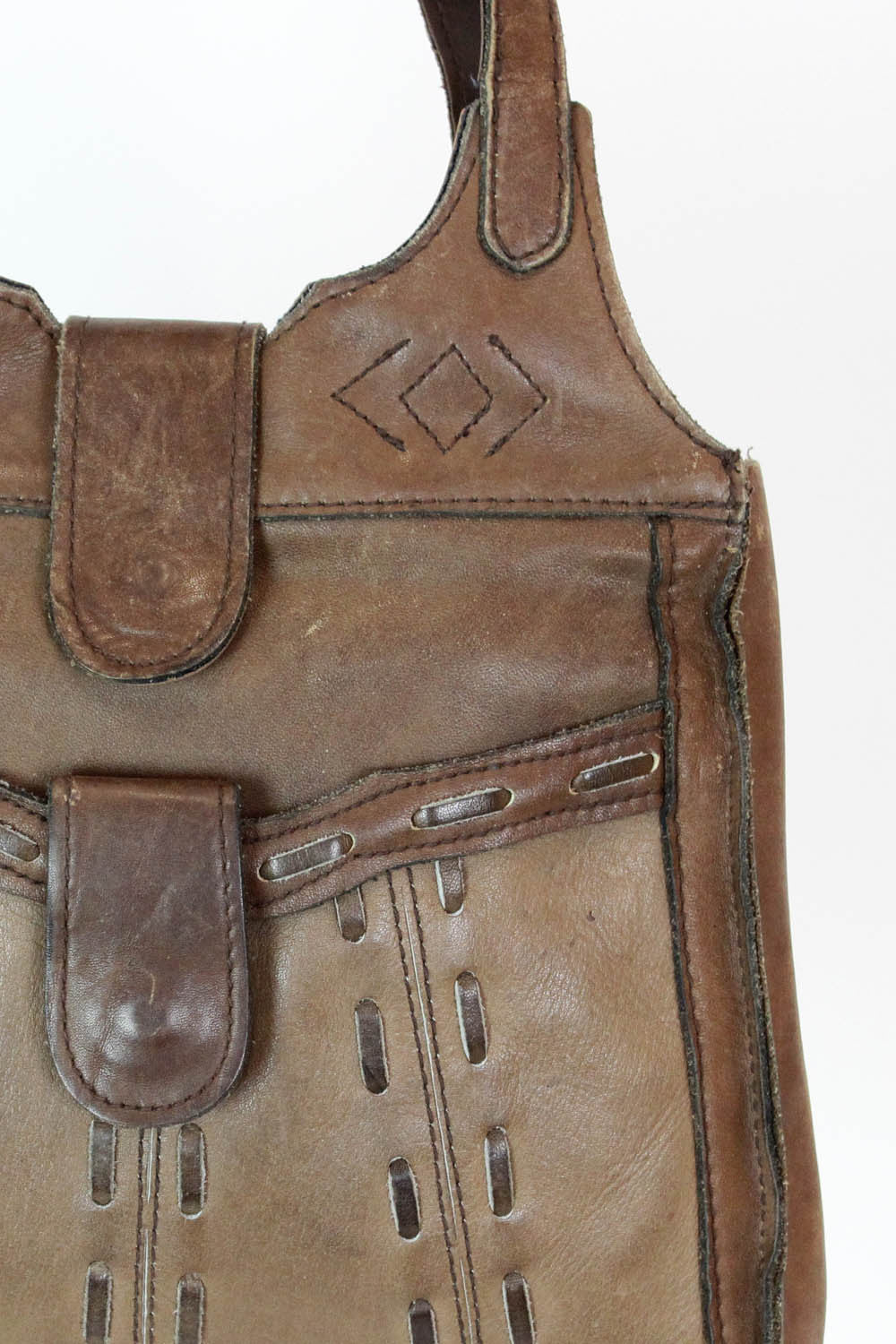 70s leather bag