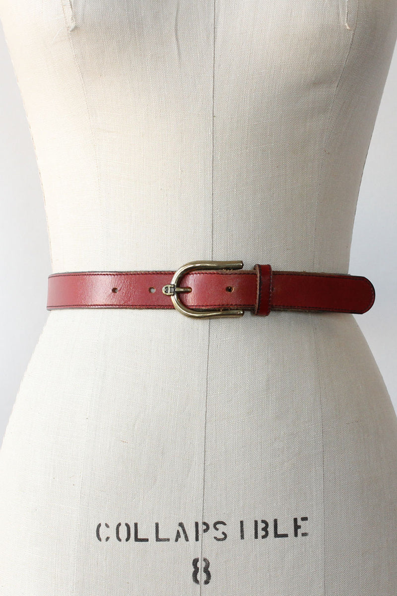 Etienne Ruby Red Belt
