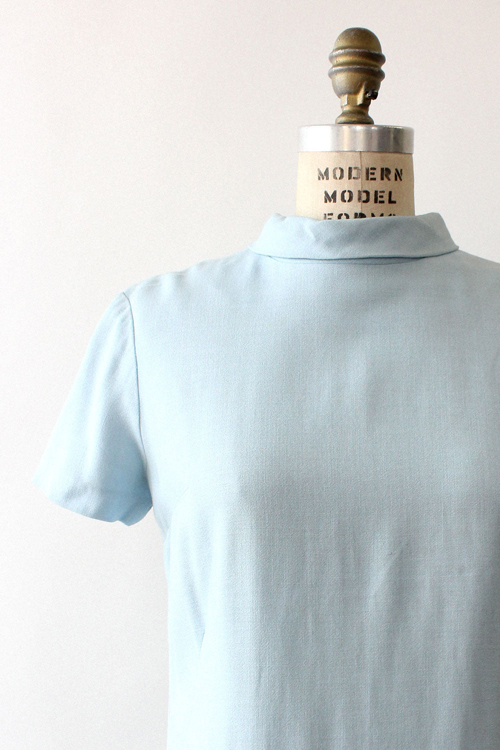 Baby Blue Shift Dress S/M