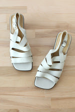 Glacée Strappy Leather Sandals 8