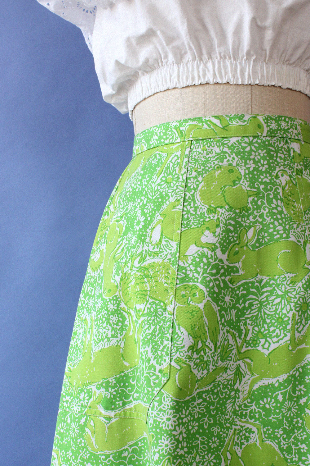 Lilly Pulitzer Animal Farm Skirt S