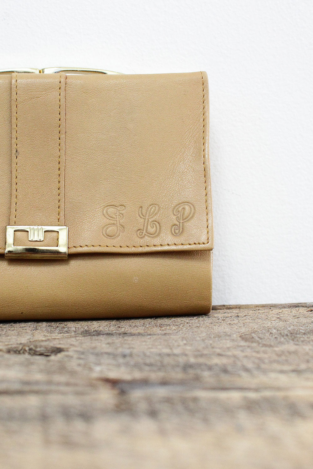 Camel Leather Wallet