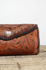 Vielka Tooled Leather Wallet