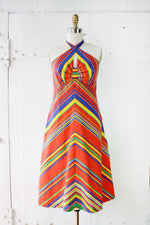 Odds N Ends Halter Dress M