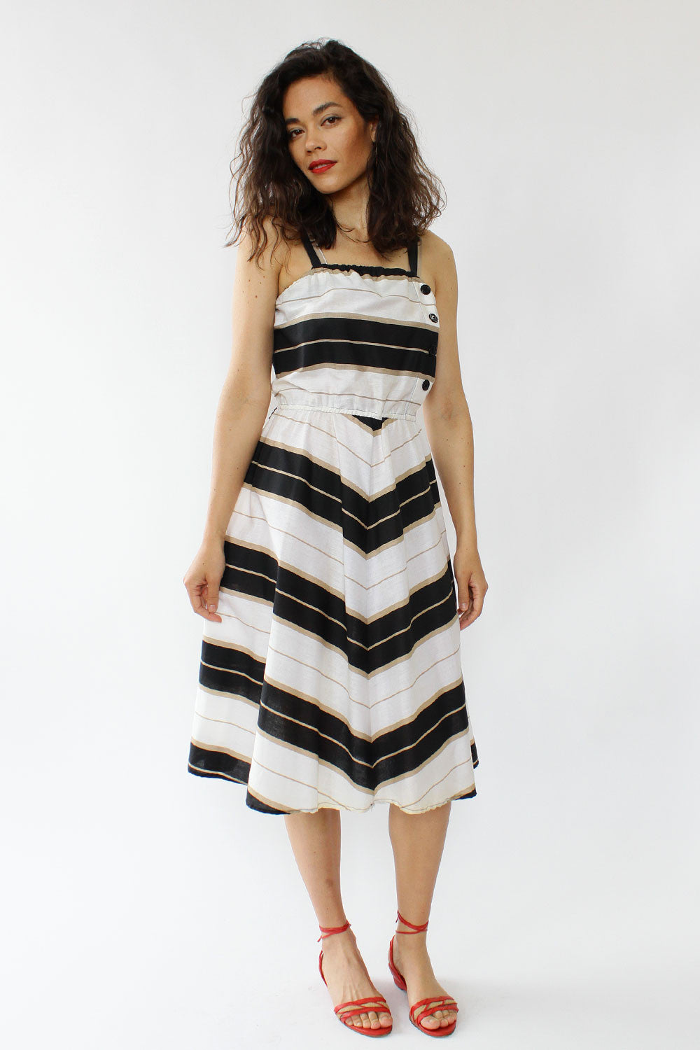 Debbie Striped Sundress S/M