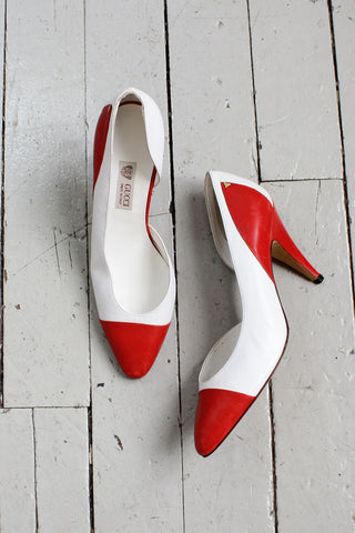Gucci Two Tone Heels 7 1/2 (EU 38)