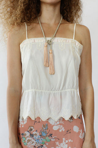 Lemonade Crochet Top XS/S