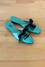Sisi Lace-Up Slides 6-6.5