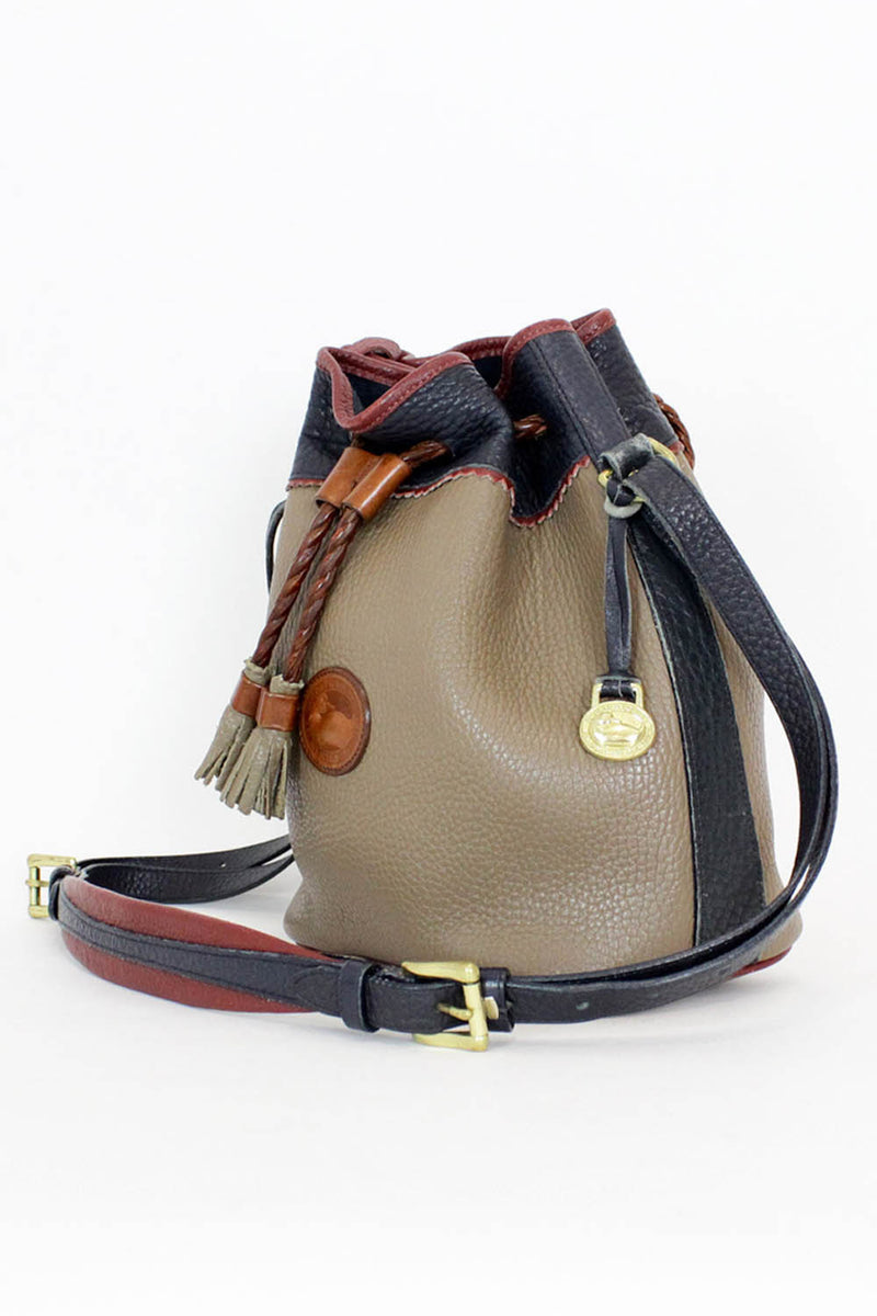 Dooney & Bourke Tricolor Bucket Bag