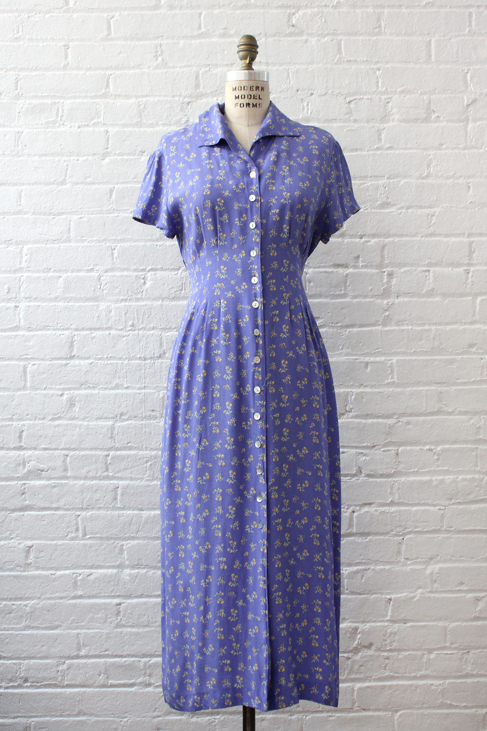 Cornflower Tea Dress M