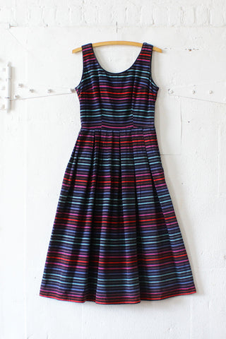 Kaytron Striped 50s Dress XS/S