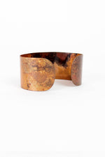 Sale / Fire Enamel Cuff
