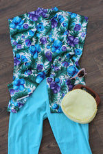 Hawaiian Moody Tunic S