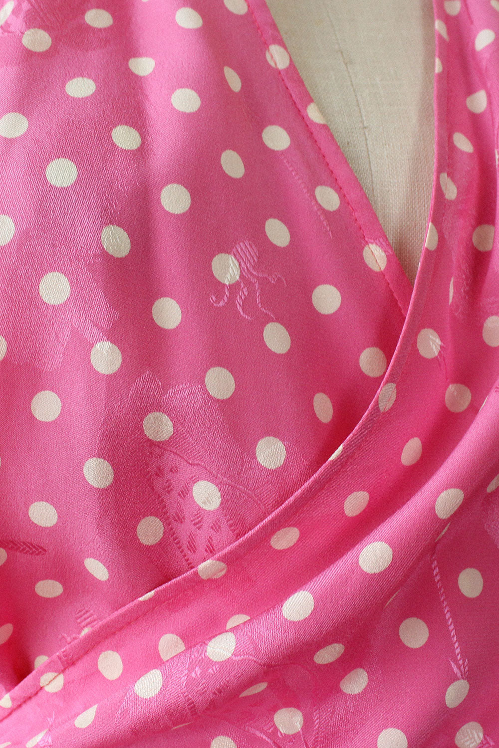 Ungaro Bubblegum Silk Wrap Blouse S-L