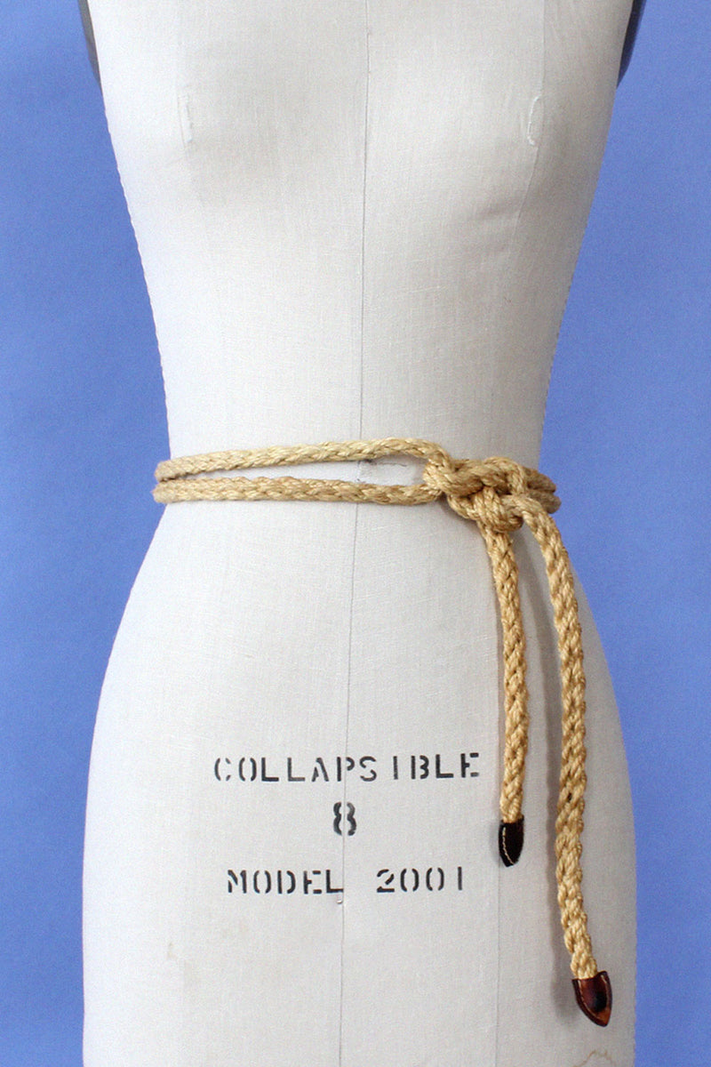 Extra Long Rope Wrap Belt