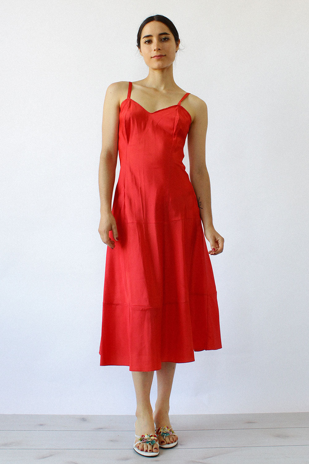 Crimson Slipdress S