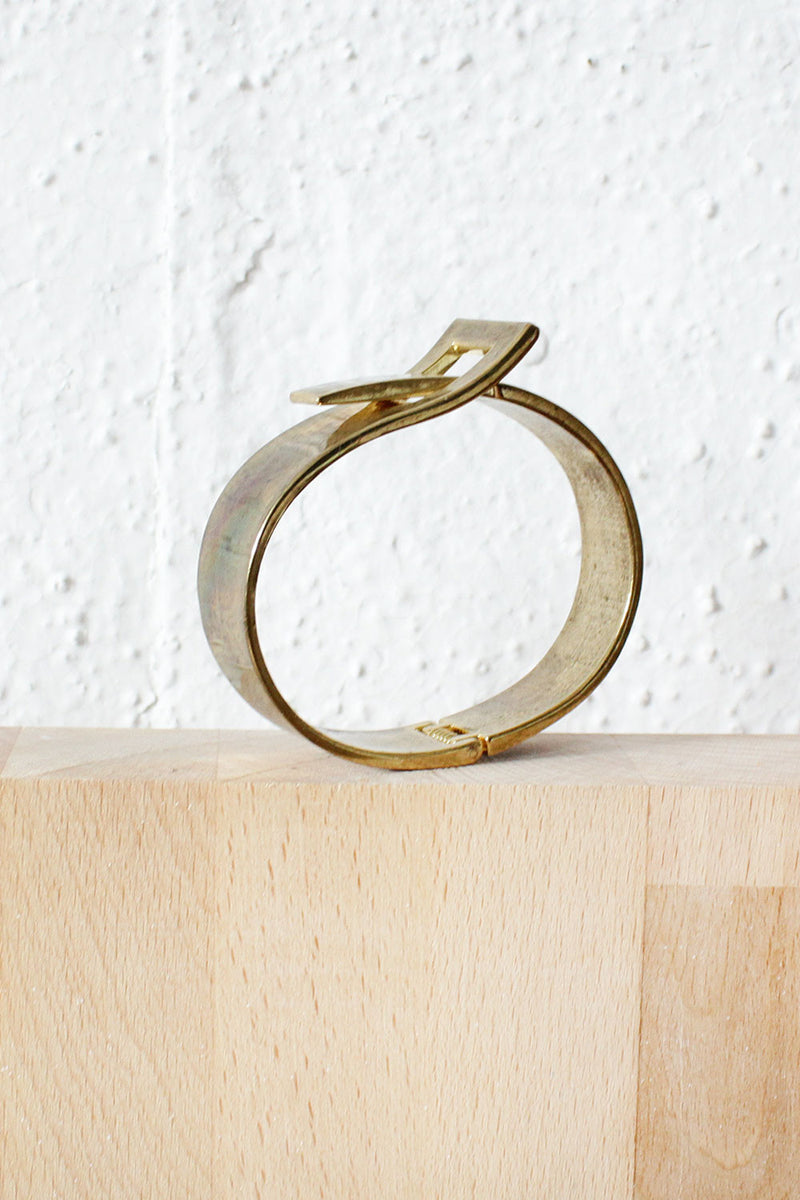 Hinged Belt Bangle