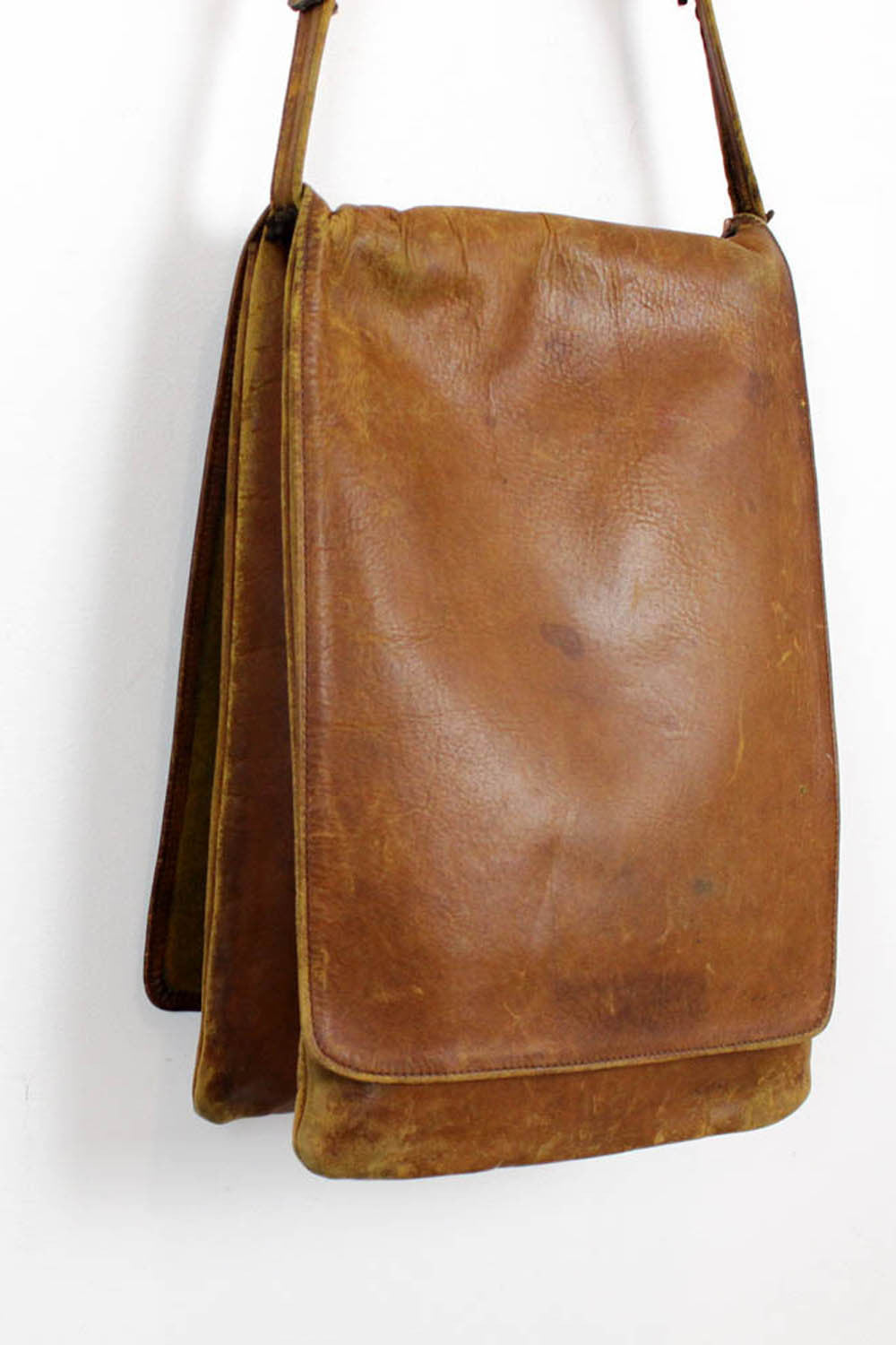 folded saddle bag | 1960s