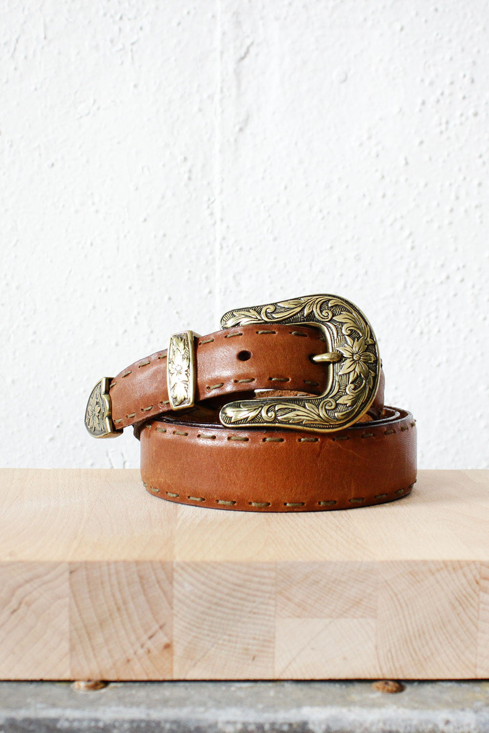 Ellis Engraved Belt