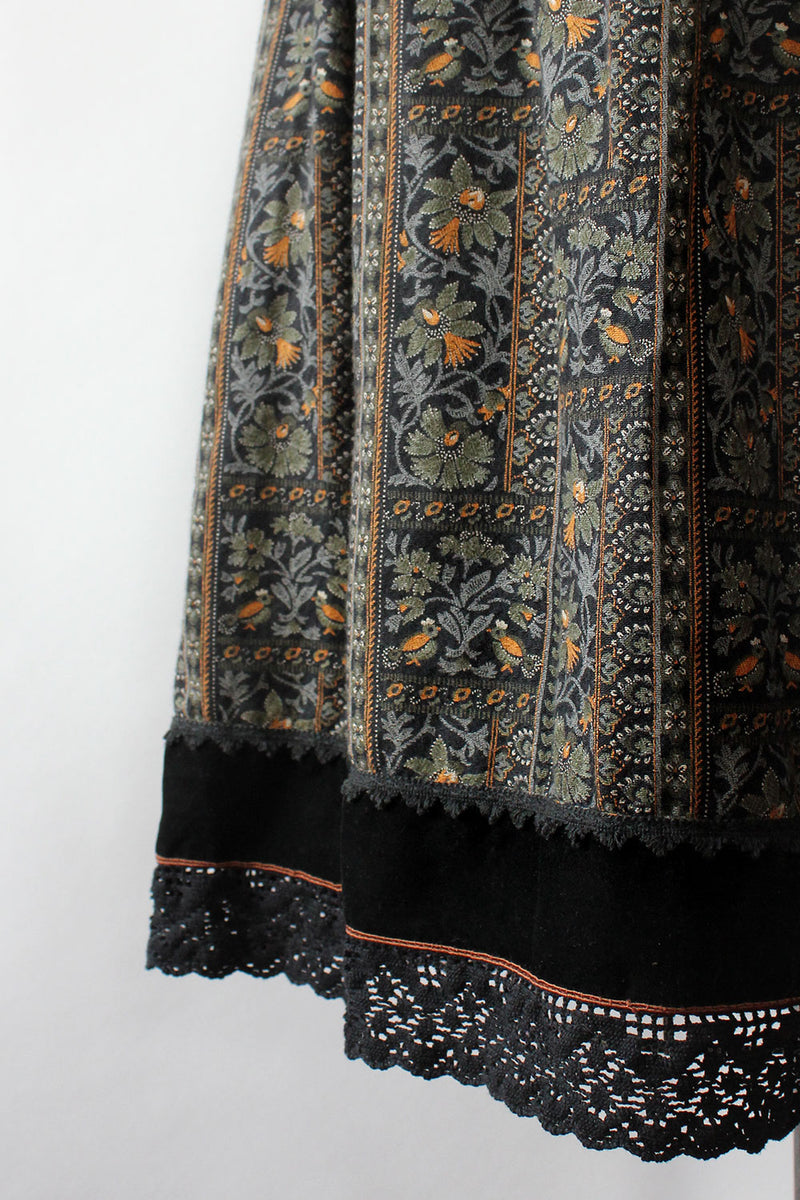 Folk Forest Skirt L