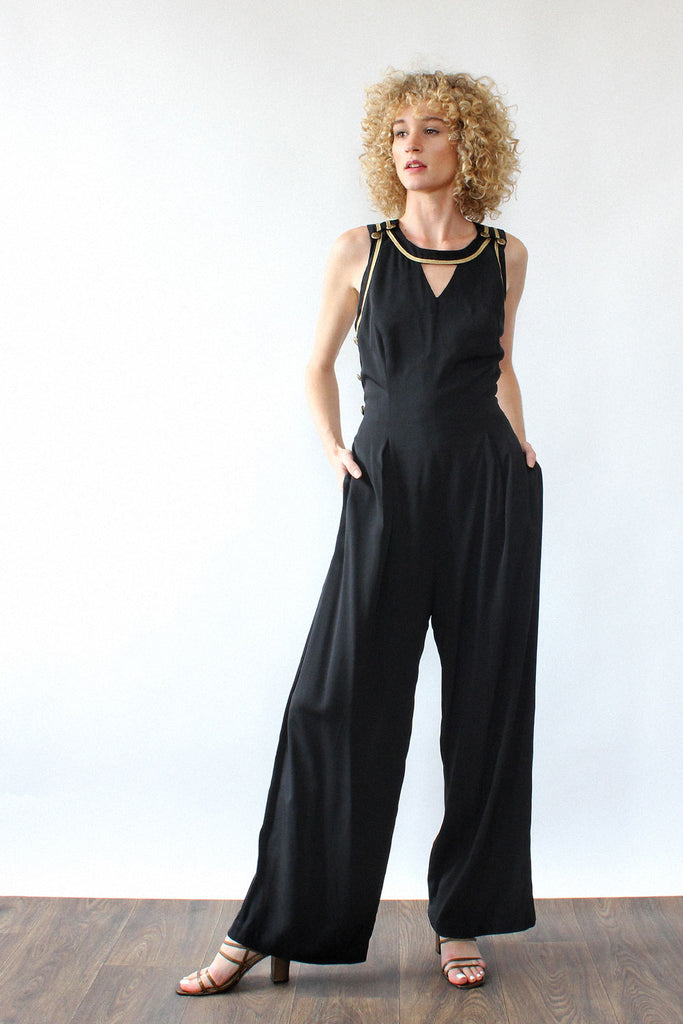 Crossback Captain Jumpsuit M/L
