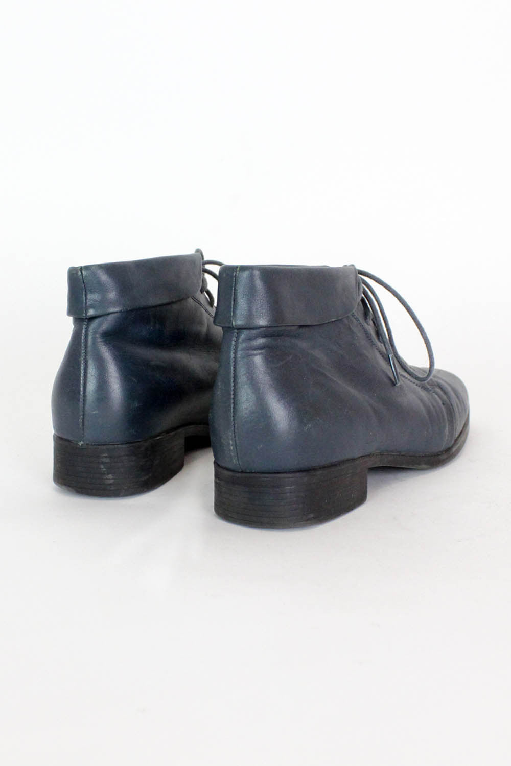 Stormy Blue Ankle Boots 7