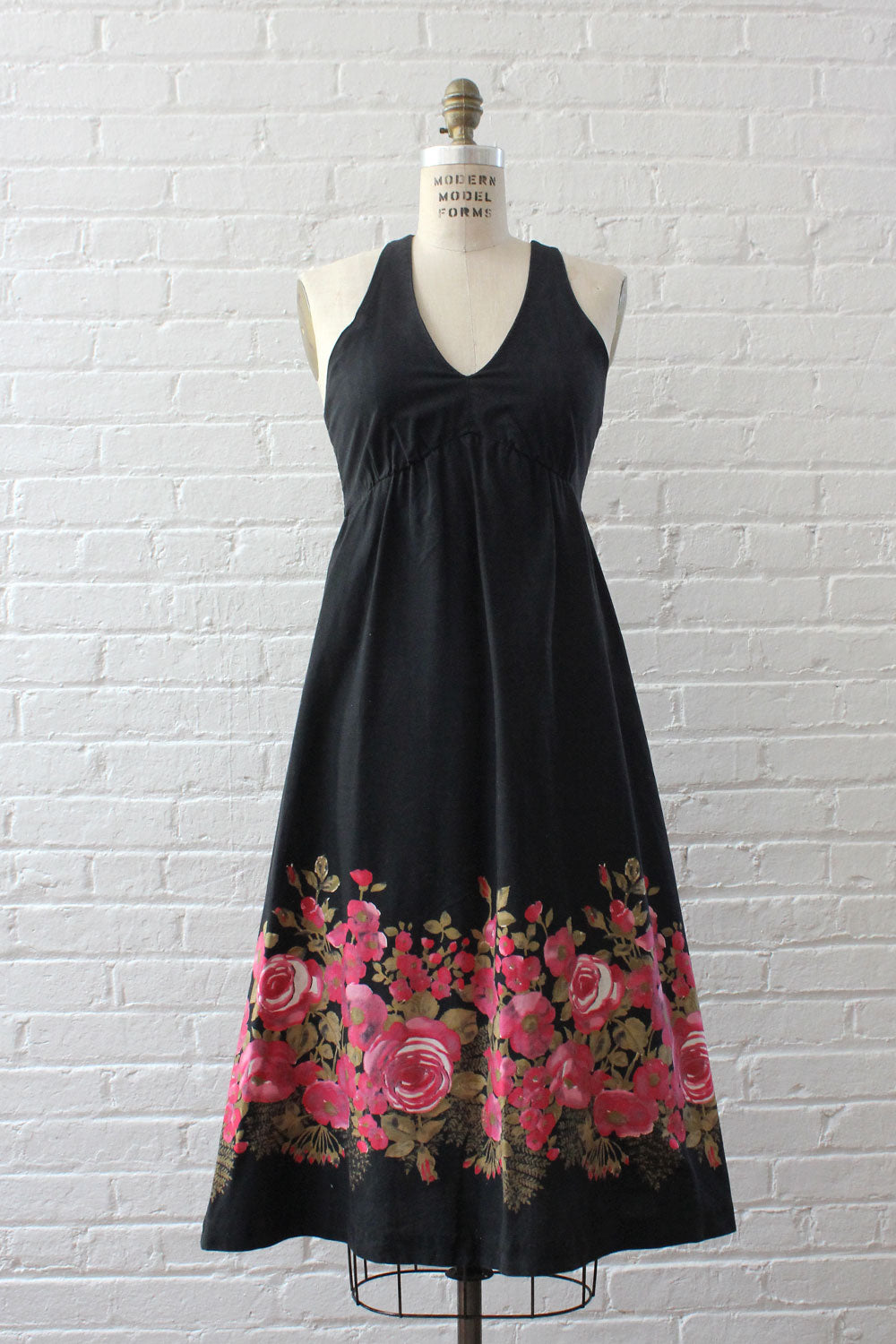 Rose Border Crossback Dress XS/S