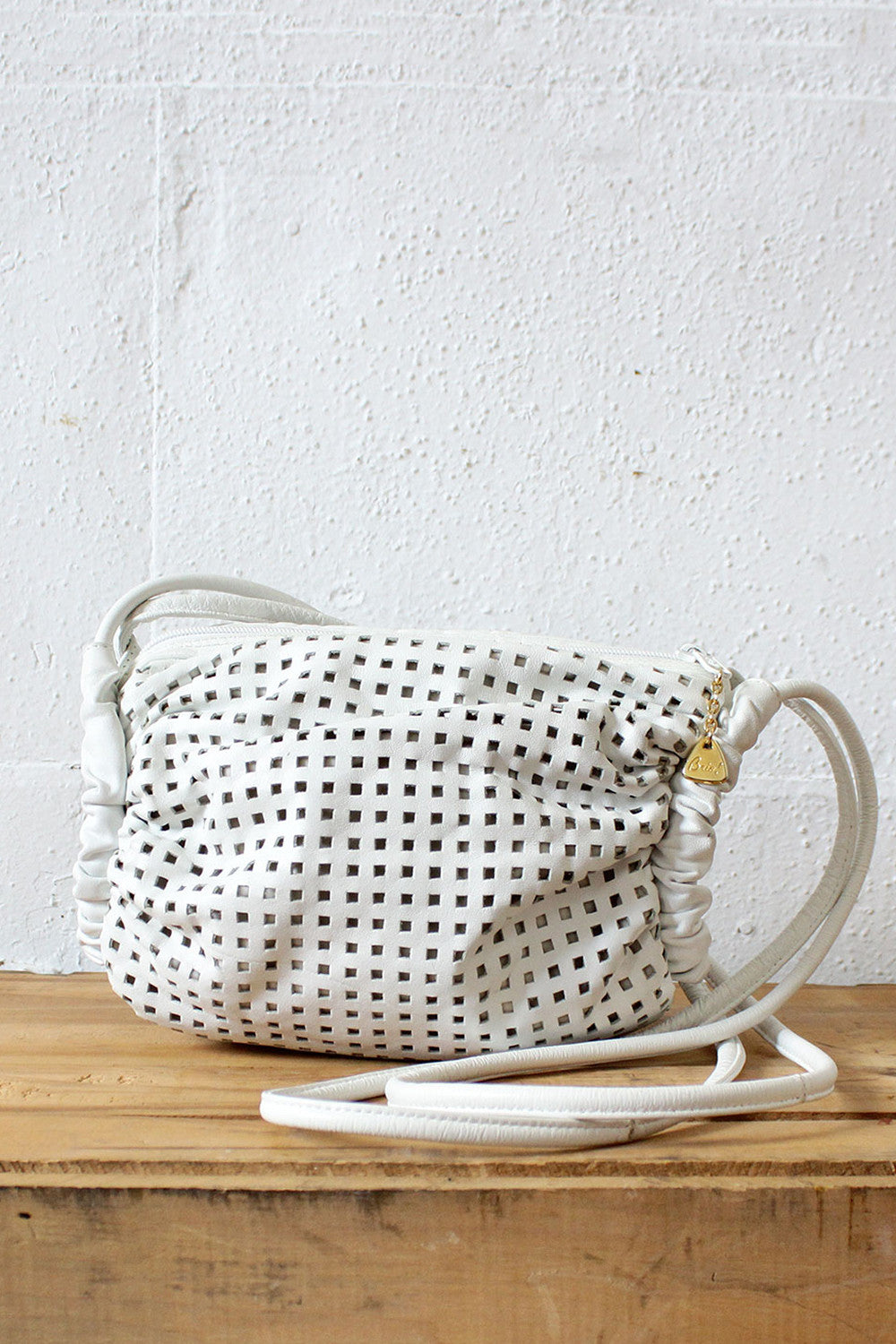 Brio! Perforated Crossbody