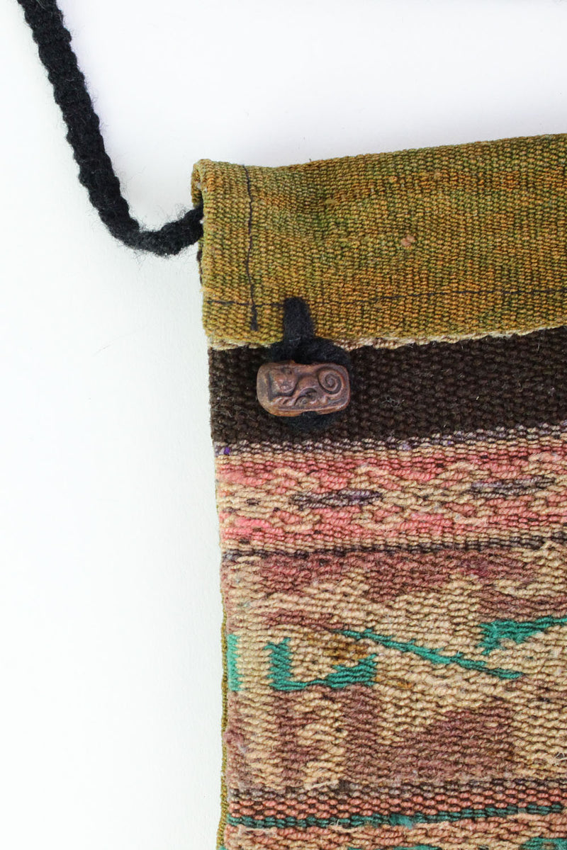 tribal crossbody pouch