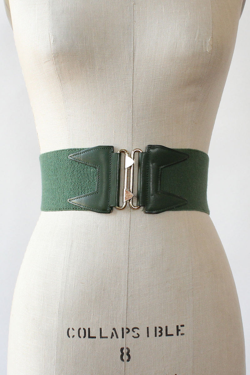 Ivy Green Cinch Belt