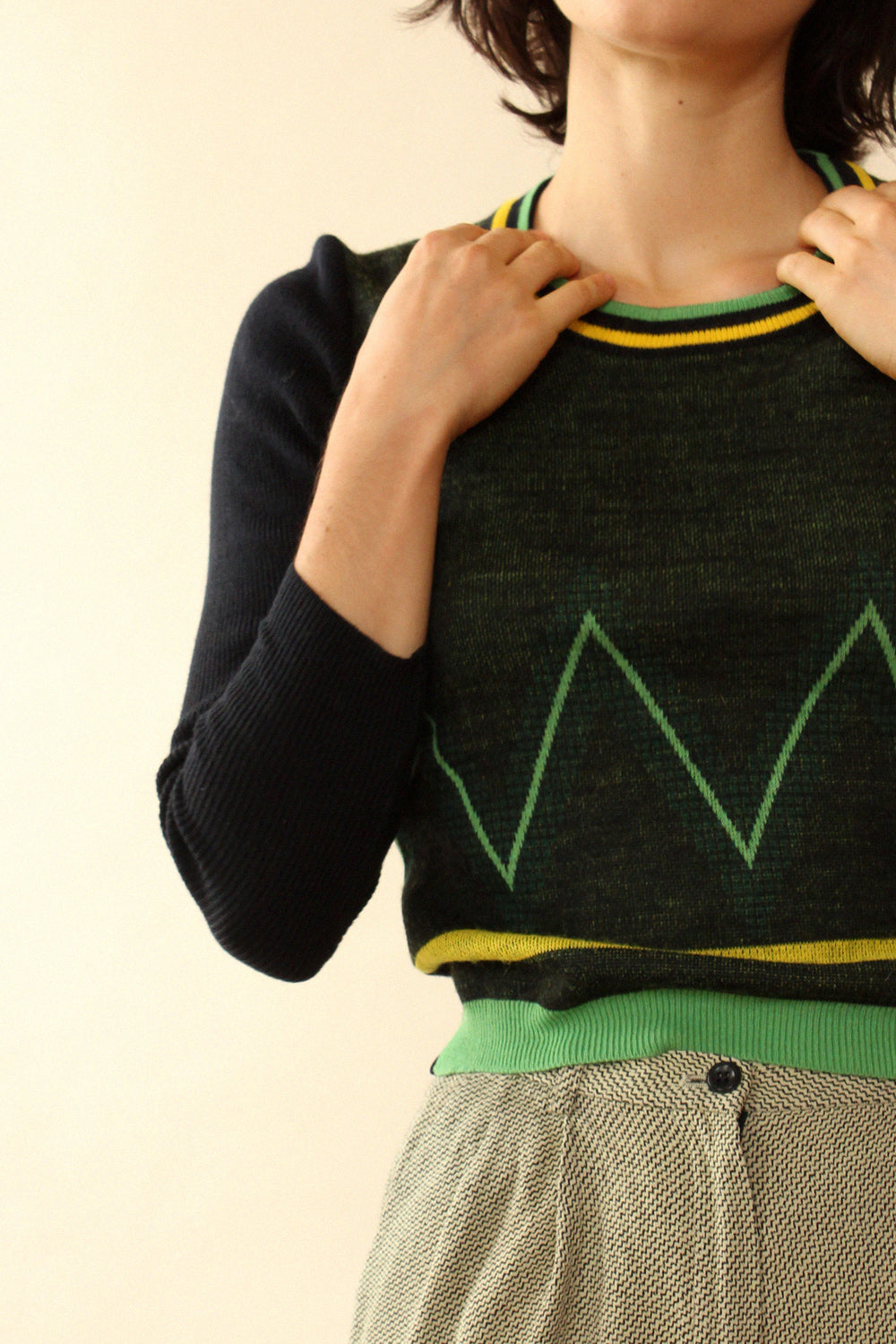Lemon Lime Charlie Sweater XS/S