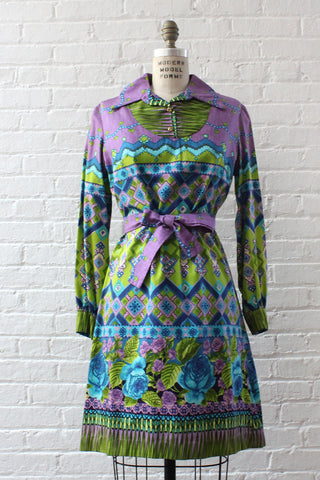 Cadbury Mod Mini Dress S/M