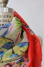 Mexican Novelty Silk Scarf