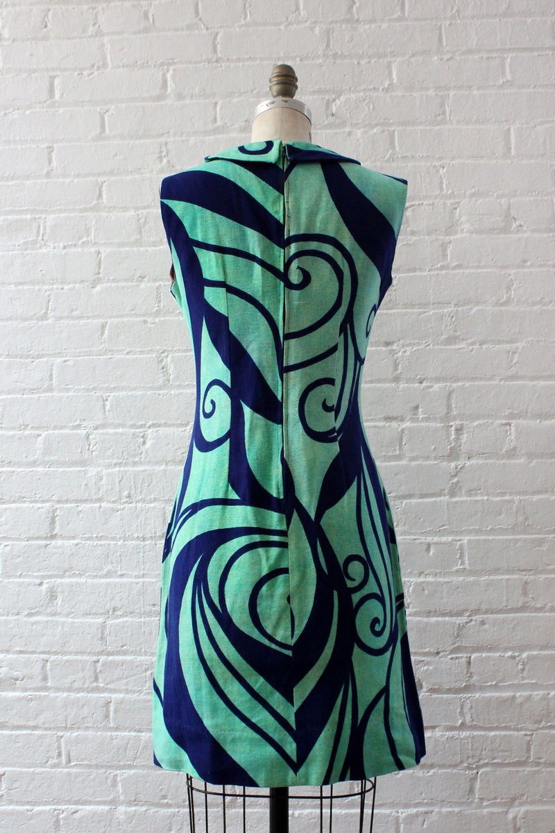 Swirly Graphic Sheath M/L