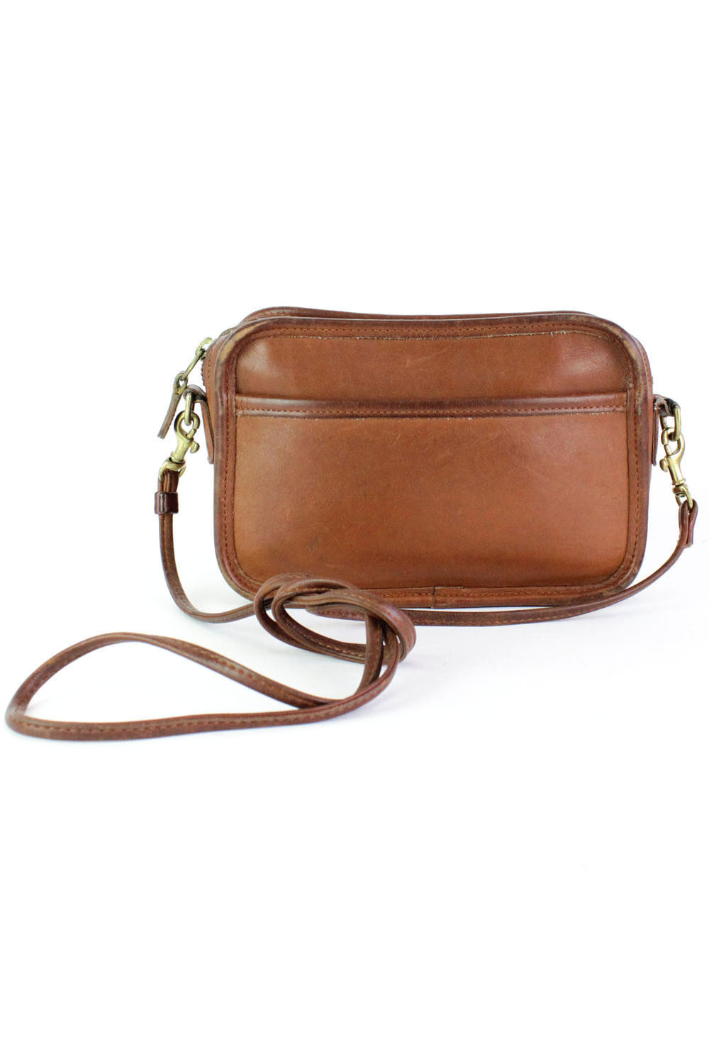 Coach chestnut crossbody bag