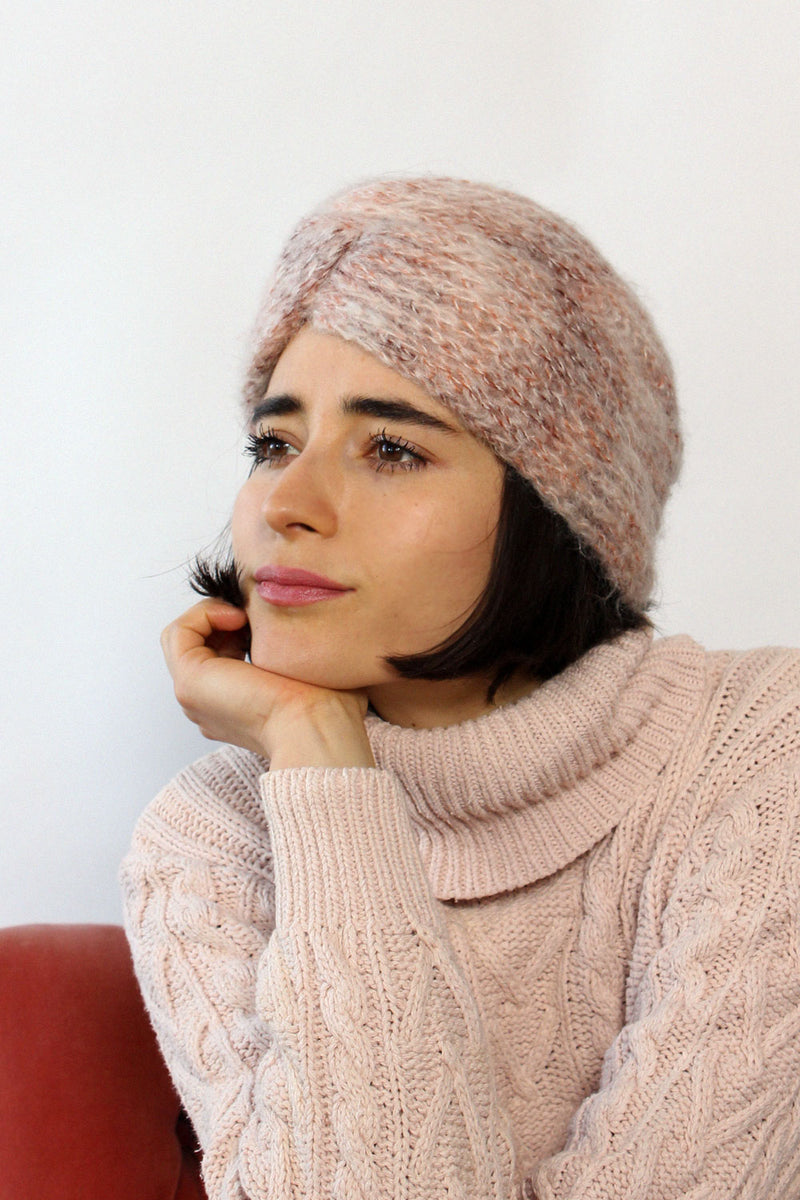 Blush Sweater Turban
