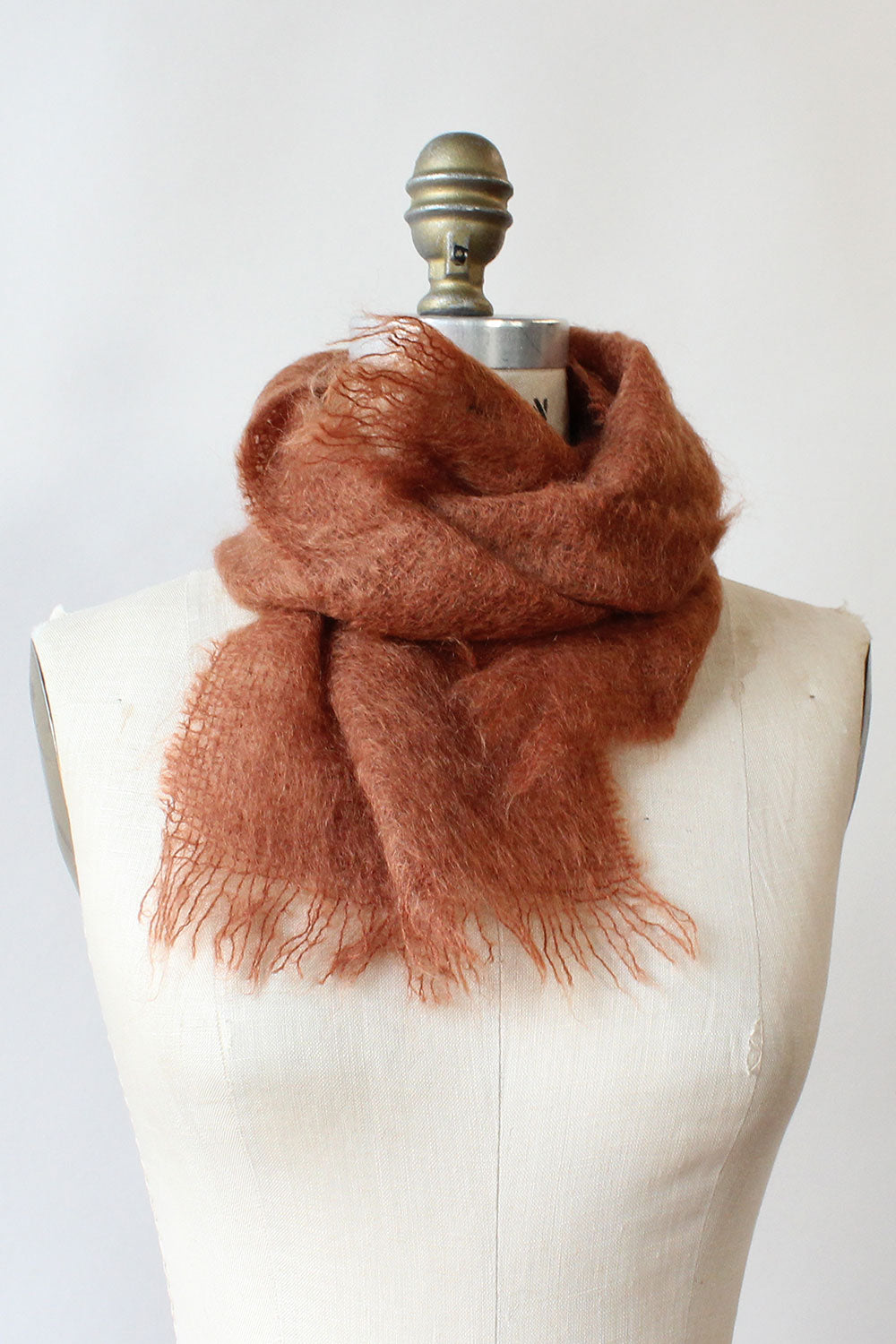 Apple Cider Mohair Scarf
