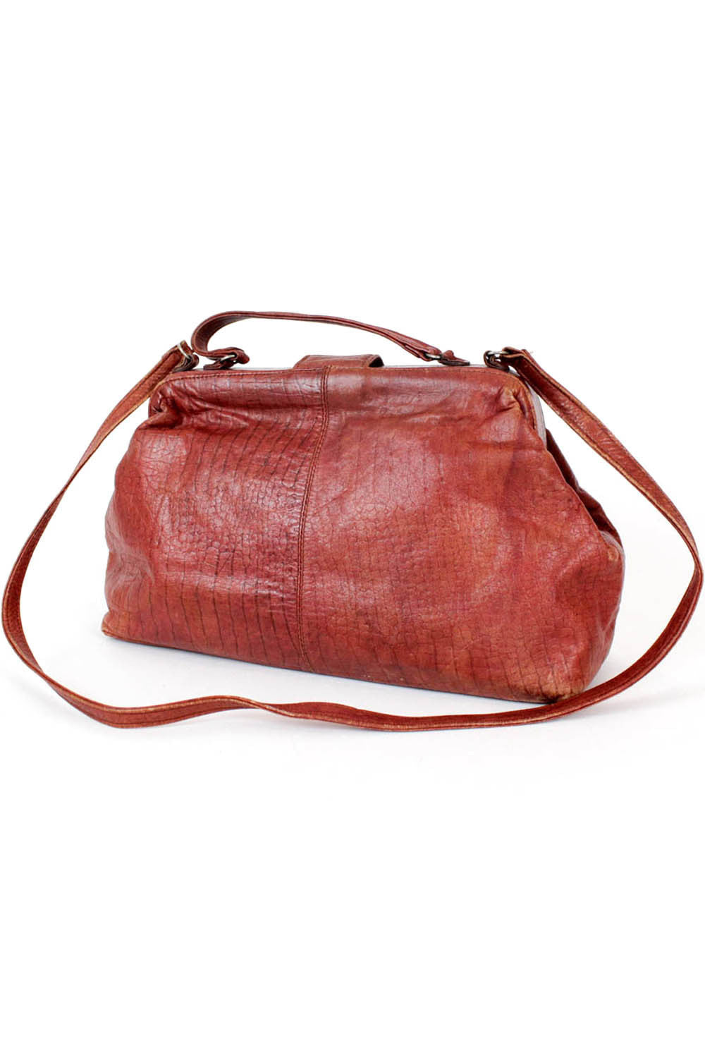 maroon doctor bag