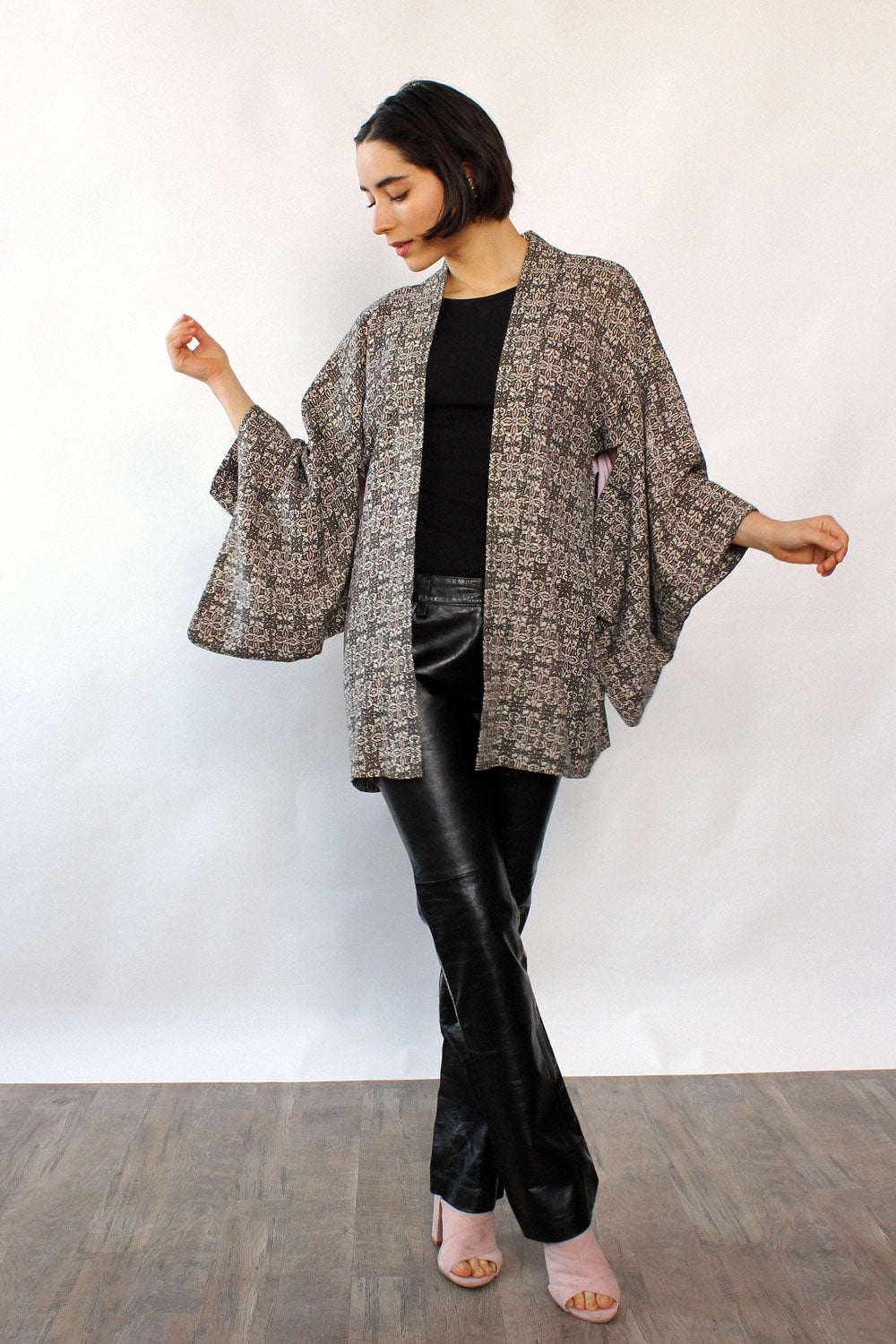 Whimsical Cotton Haori